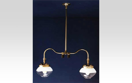Double-Ceiling-Pendant-Gas-Light